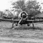 Nakajima Ki-44 of the IIb 22 Sentai Clark Field February 1945