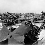 Wrecks Ki-46 Ki-43 on Okinawa apr1945