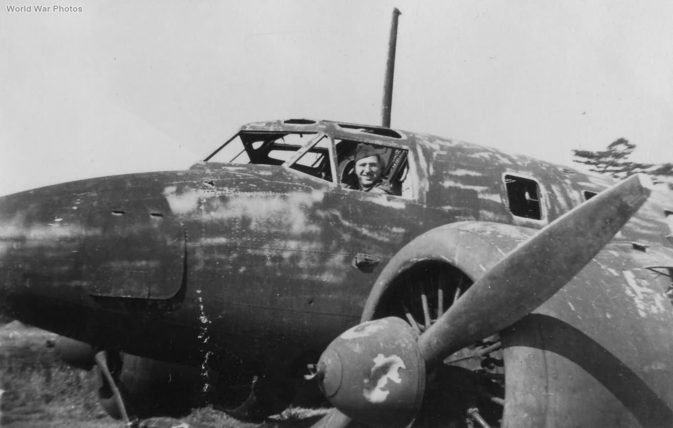 Captured Ki-54 1945