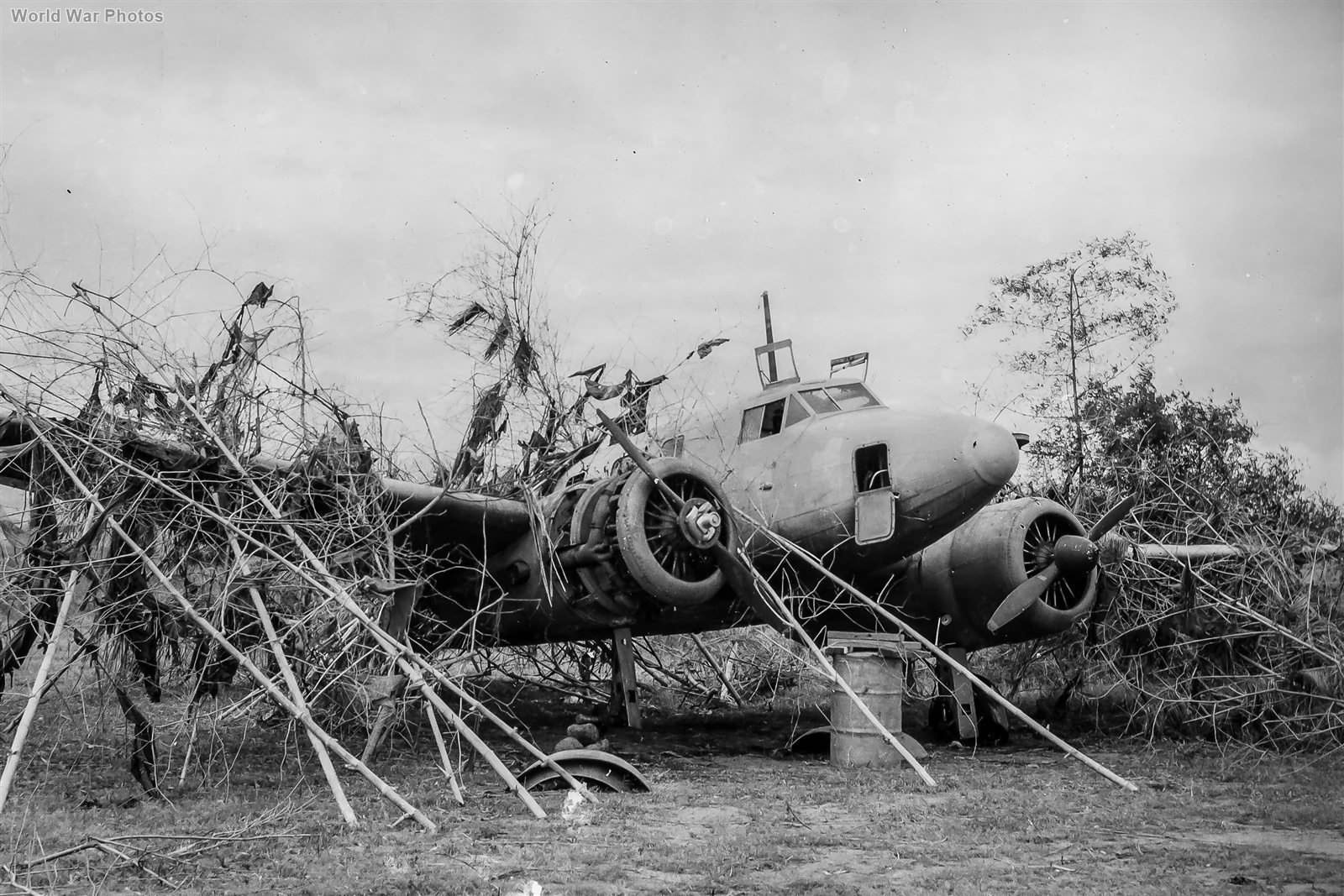 Ki-54 Transport in Philippines 1945