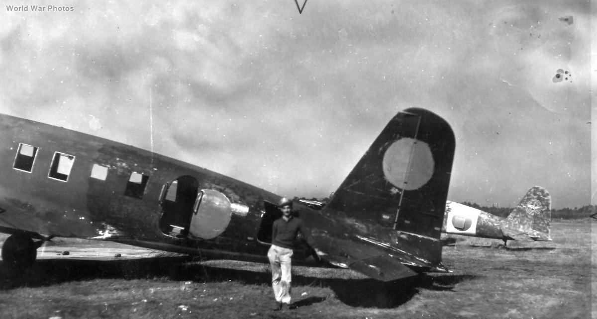 Captured Ki-57 Japan