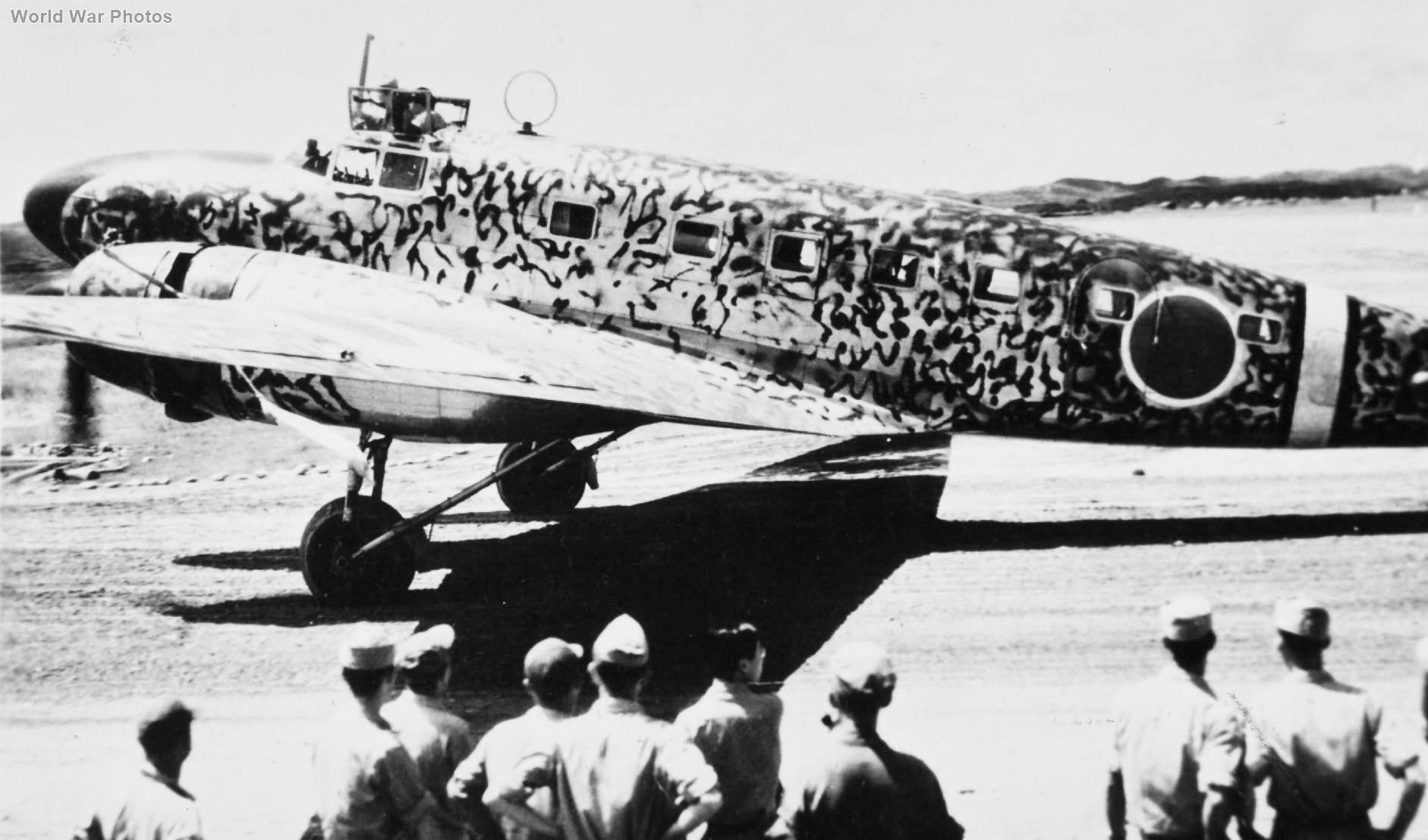 Ki-57 Surrender 1945