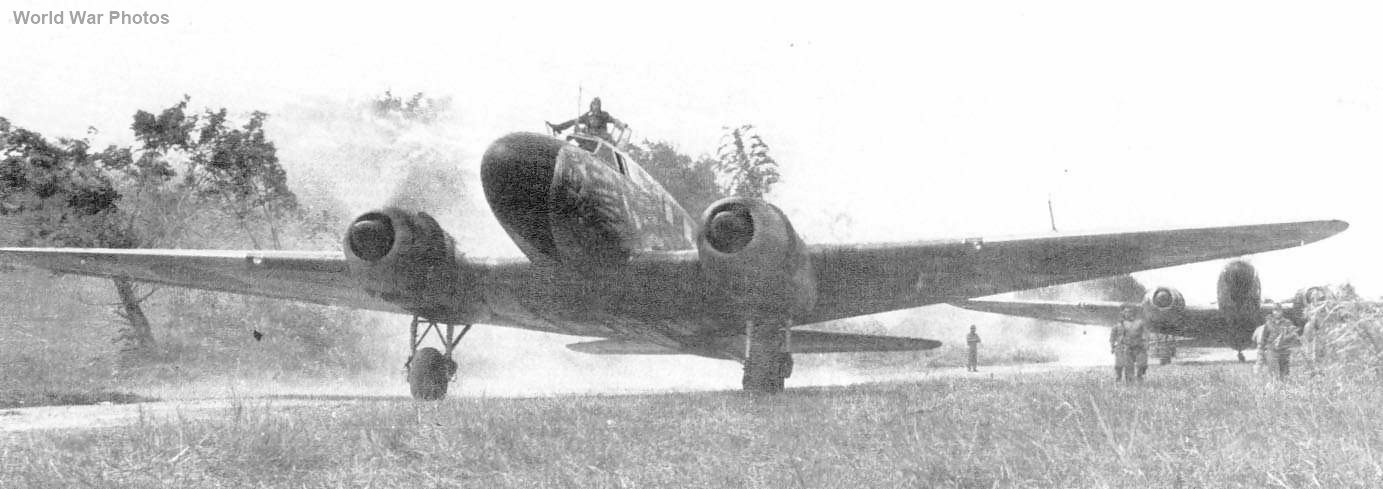 Transport aircraft Ki-57 Topsy