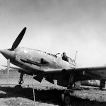 Captured Japanese Kawasaki Ki-61 Hien Tony Fighter in Philippines