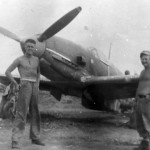 Captured Ki-61 from 19th Sentai Okinawa 1945