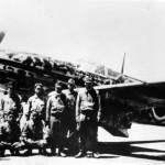 Ki-61 of the 244th Sentai crew
