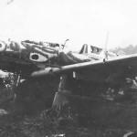 Kawasaki Ki-61 Hien Tony wreckage