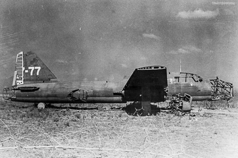 Ki-67 7-77 of the 7 Sentai Clark Field