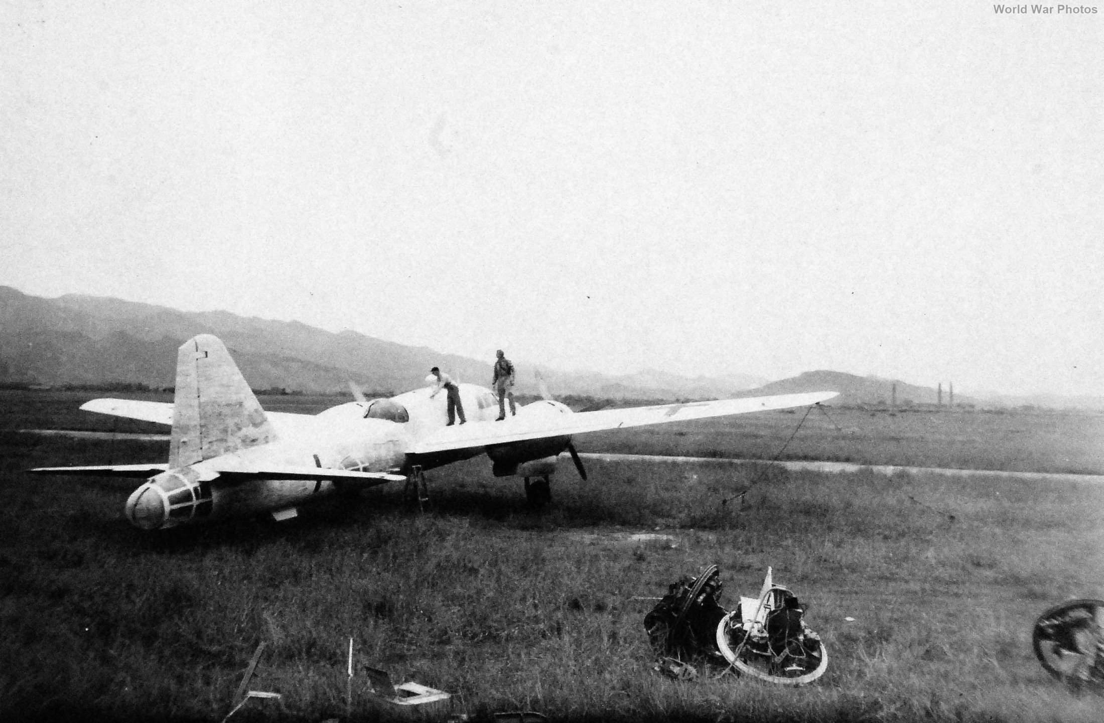 Ki-67 Matsuyama Base September 5, 1945