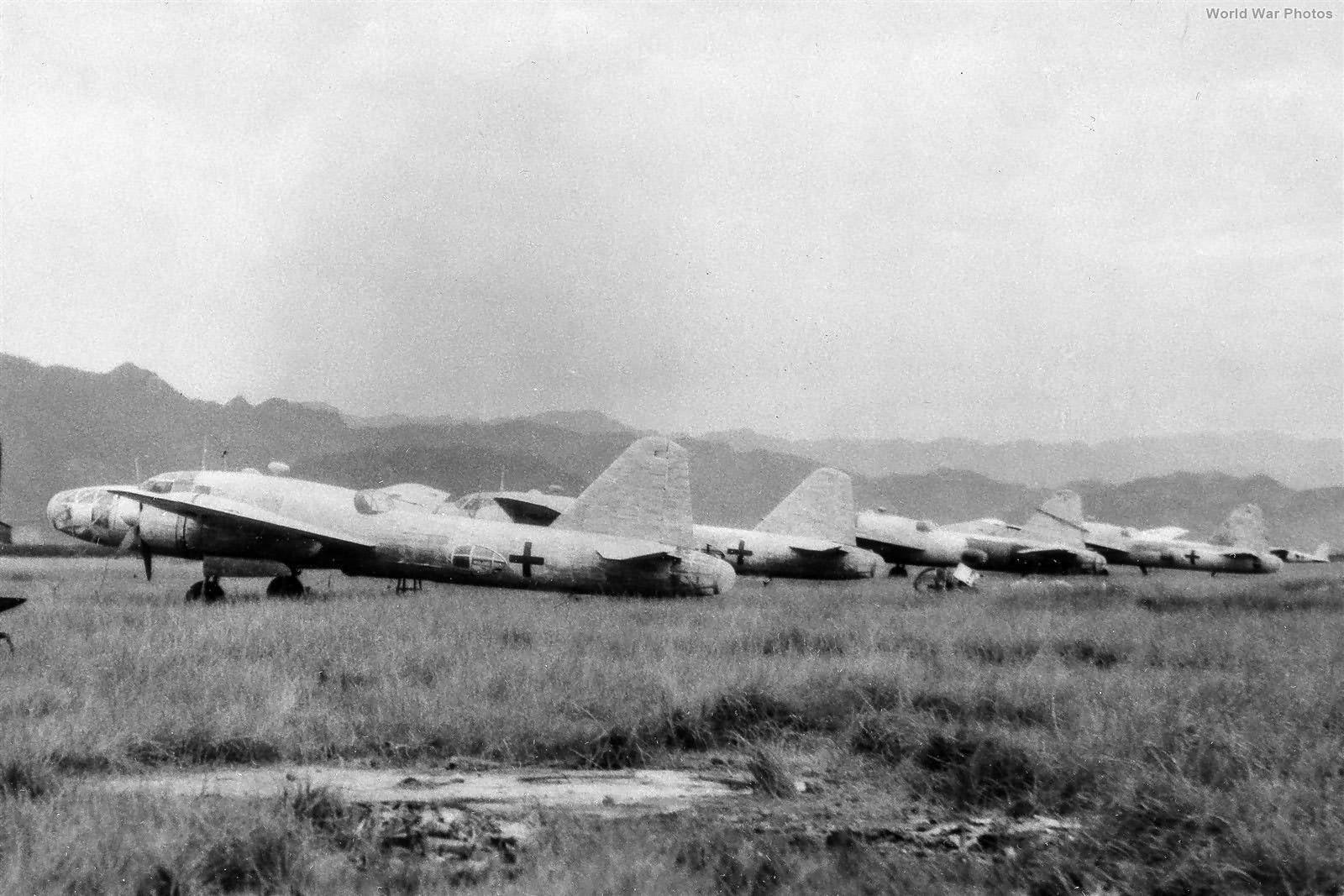 Ki-67 bombers on Formosa 5sep1945