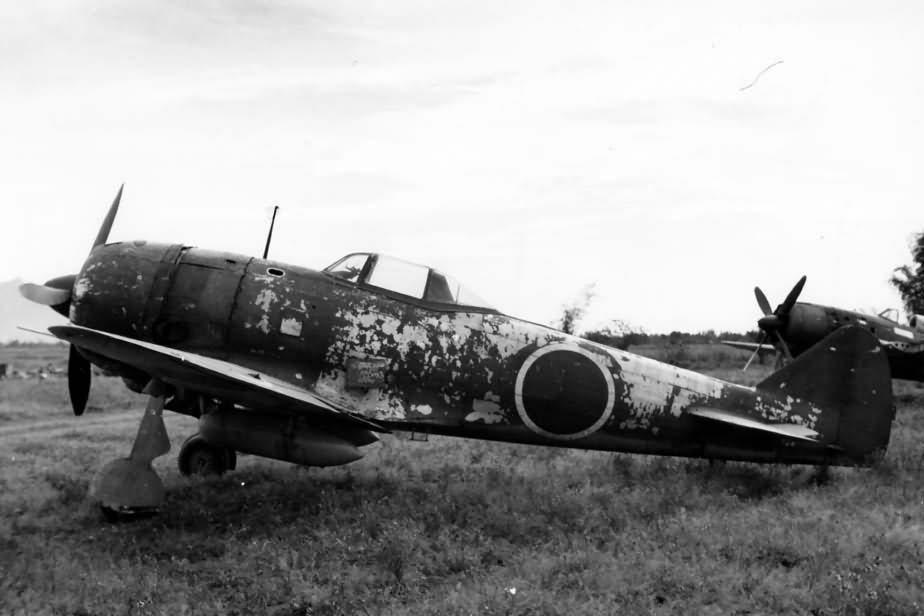 Nakajima Ki 84 Hayate Frank Clark Field 1945