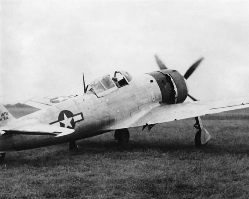 Nakajima Ki 84 Hayate Frank flight tested by TAIC Clark Field 1945