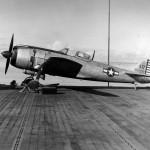 Captured Nakaima Ki 84 Hayate Frank aboard USS Long Island 1944