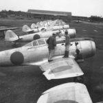 Ki-84 at Utsunomiya Airfield after Japanese surrender