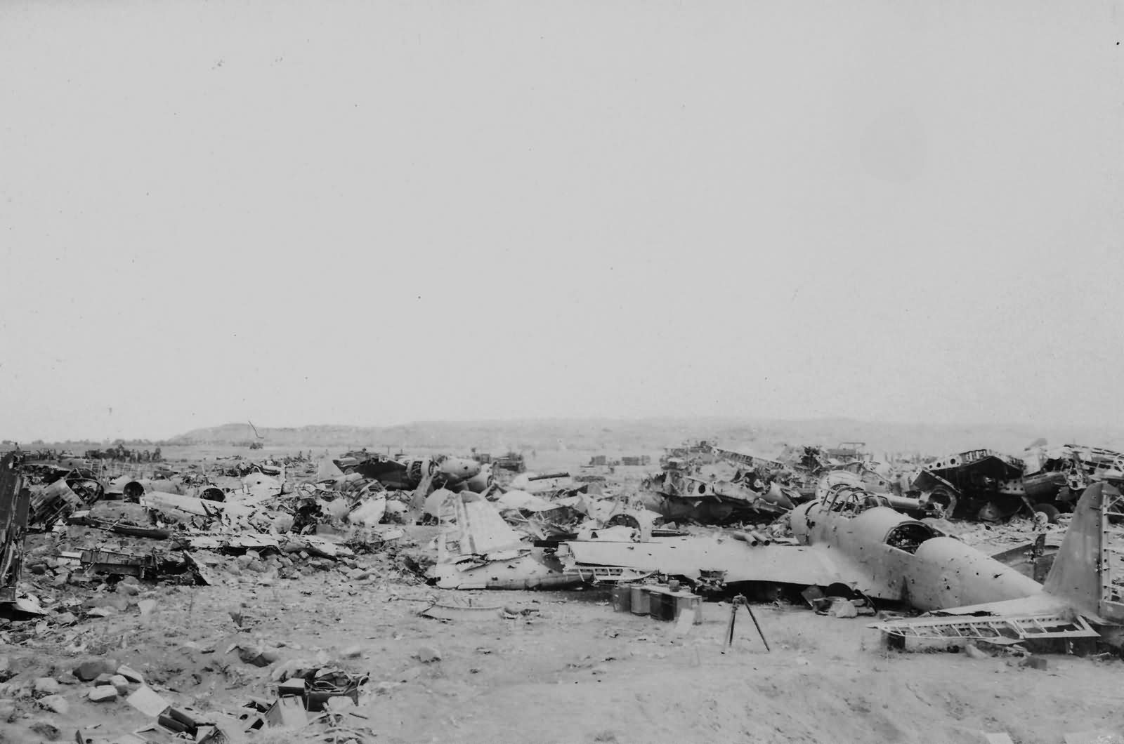 Japanese Aircraft Wrecks on Iwo Jima 5