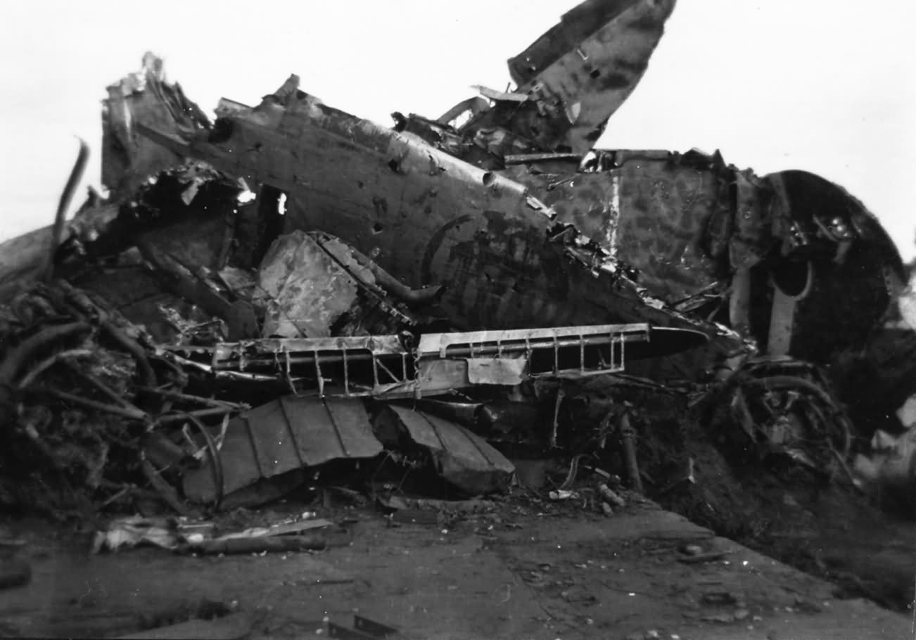 Japanese Fighter Aircraft Wreckage