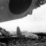 Japanese Aircraft Wrecks at Lae New Guinea 1943