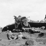 Japanese Aircraft Wrecks on Iwo Jima, Motoyama No. 1 Airfield 7
