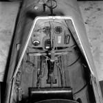 Cockpit of Yokosuka MXY7 Ohka baka rocket bomb Atsugi 1945
