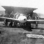 captured Yokosuka MXY7 Ohka Suicide Plane