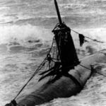 Japanese midget submarine Ha-19 Oahu beach 4