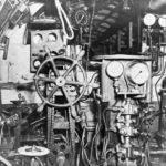 Type D submarine control room looking forward 1945