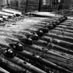 Captured Type D in a drydock at Kure Naval Base – 19 October 1945