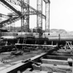 Type D on the ways at the Yokosuka Naval Base 8 September 1945 2