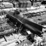 Type D on the ways at the Yokosuka Naval Base 8 September 1945 3