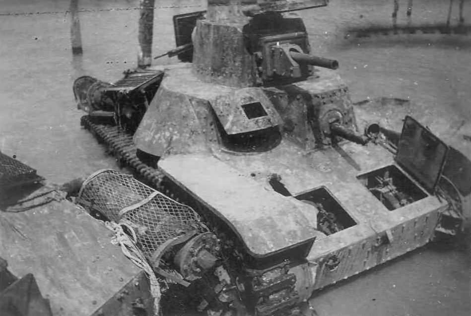 Captured Japanese Type 95 Ha-Go Tank