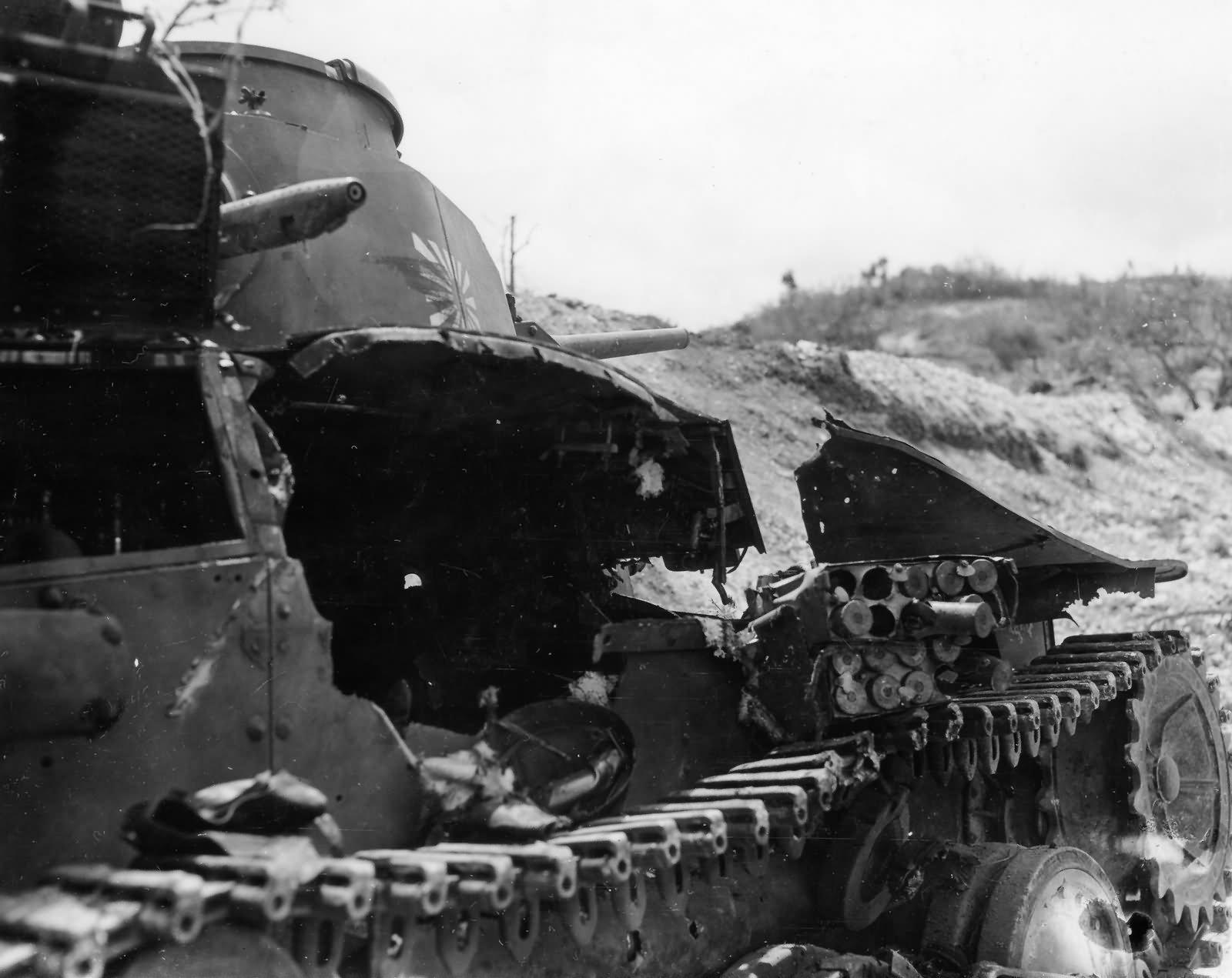 Ha Go tank 9th tank regiment Saipan