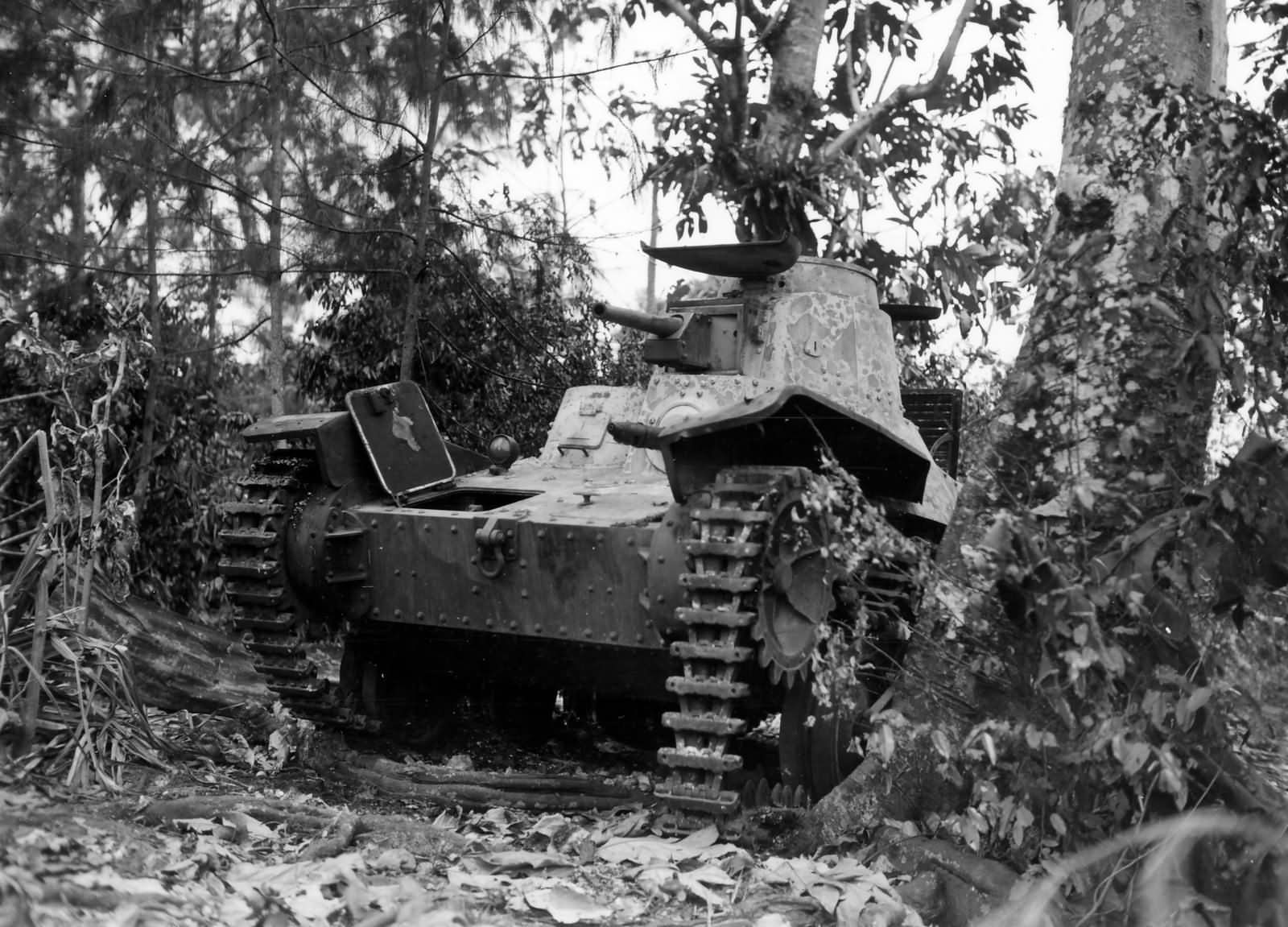 Ha Go tank Garapan June 1944