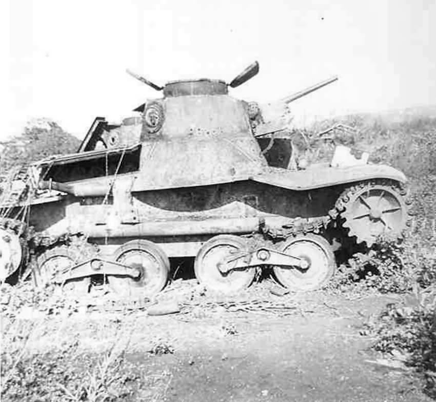 Japanese Type 95 Ha-Go Tank