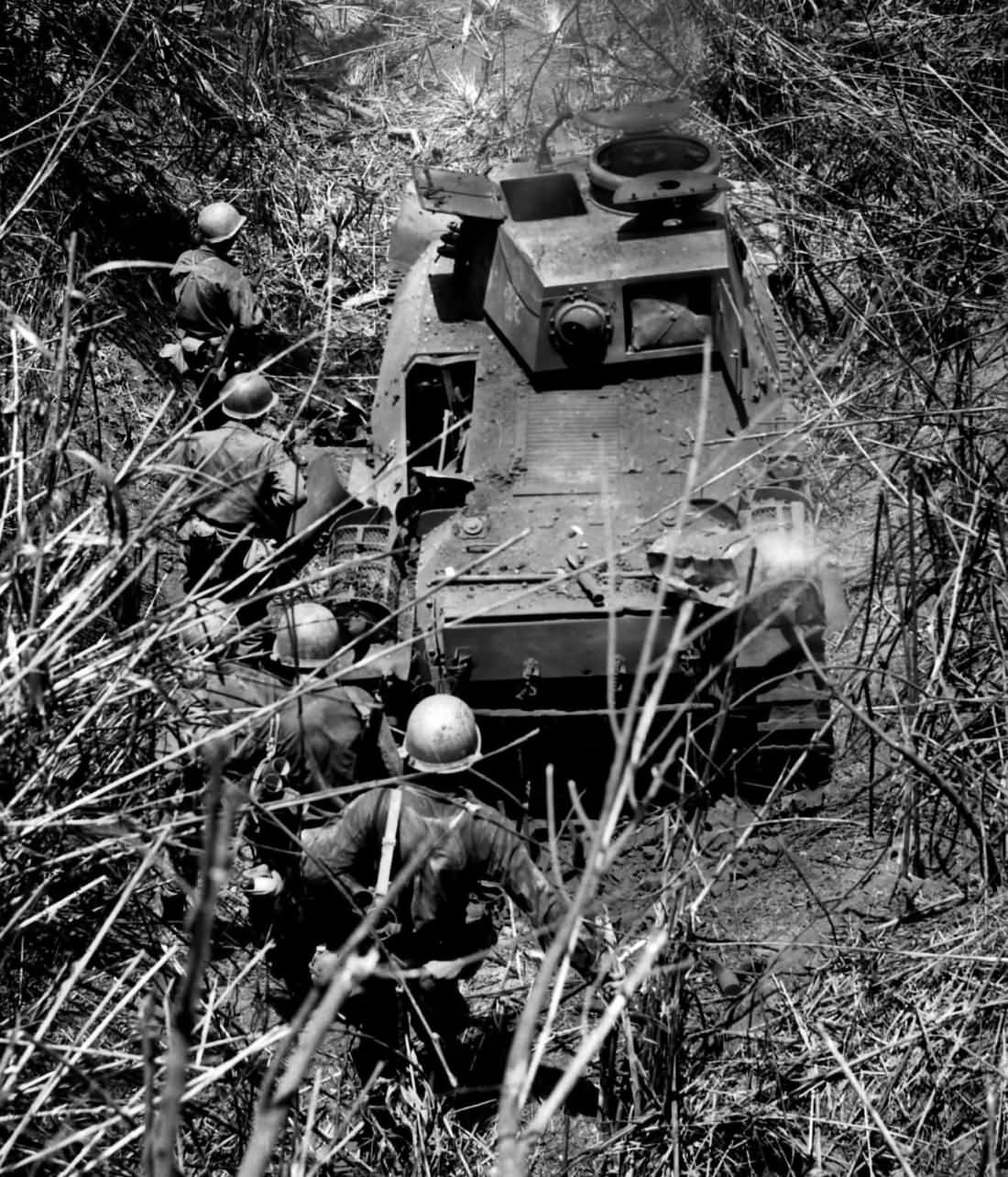 Type 95 Ha Go from Japanese 2nd Tank Division and 37th Infantry Division Aritao Luzon