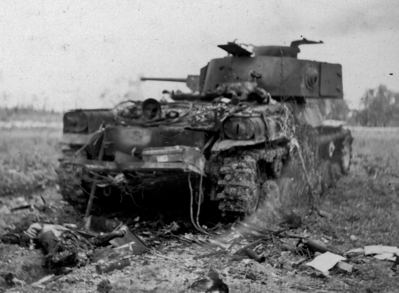 Type 97 Shinhoto Chi Ha Medium Tank Saipan June 1944