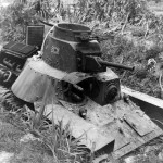 Japanese Tank Type 95 Ha-Go Makin Atoll