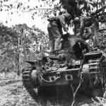 Type 95 Ha-Go tank Saipan 1944