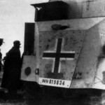 Armored car AEC Dorchester Moritz 26