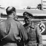 Erwin Rommel and AEC Dorchester