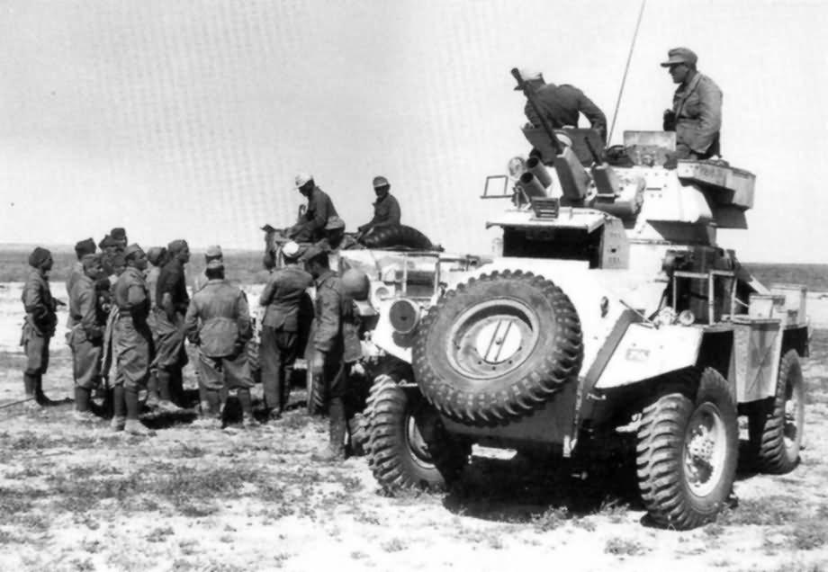 Humber armored car afrika korps 2