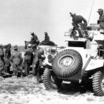 Humber armored car afrika korps