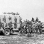 Humber armored car in africa