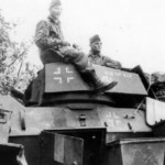 Humber armored car in german service
