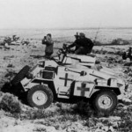 Humber armoured car afrika korps