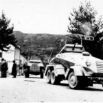 Marmon Herrington and SdKfz 232 6-rad armored cars