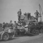 British tank A9 cruiser Mk I CS