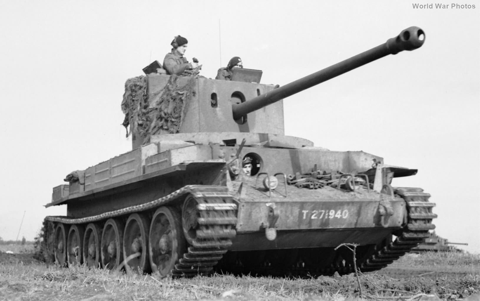 Challenger T271940 of 11th Armoured Division Holland 17 October 1944 2