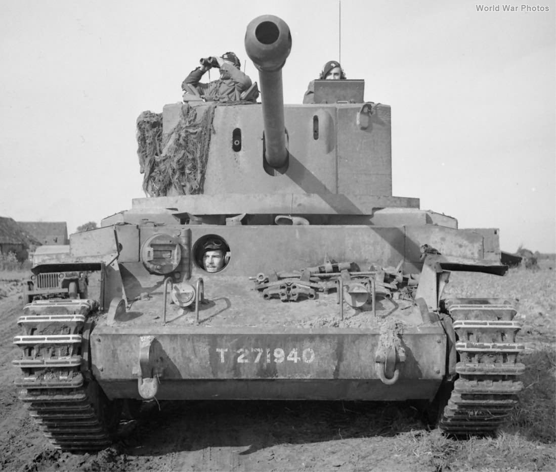 Challenger T271940 of 11th Armoured Division Holland 17 October 1944 3