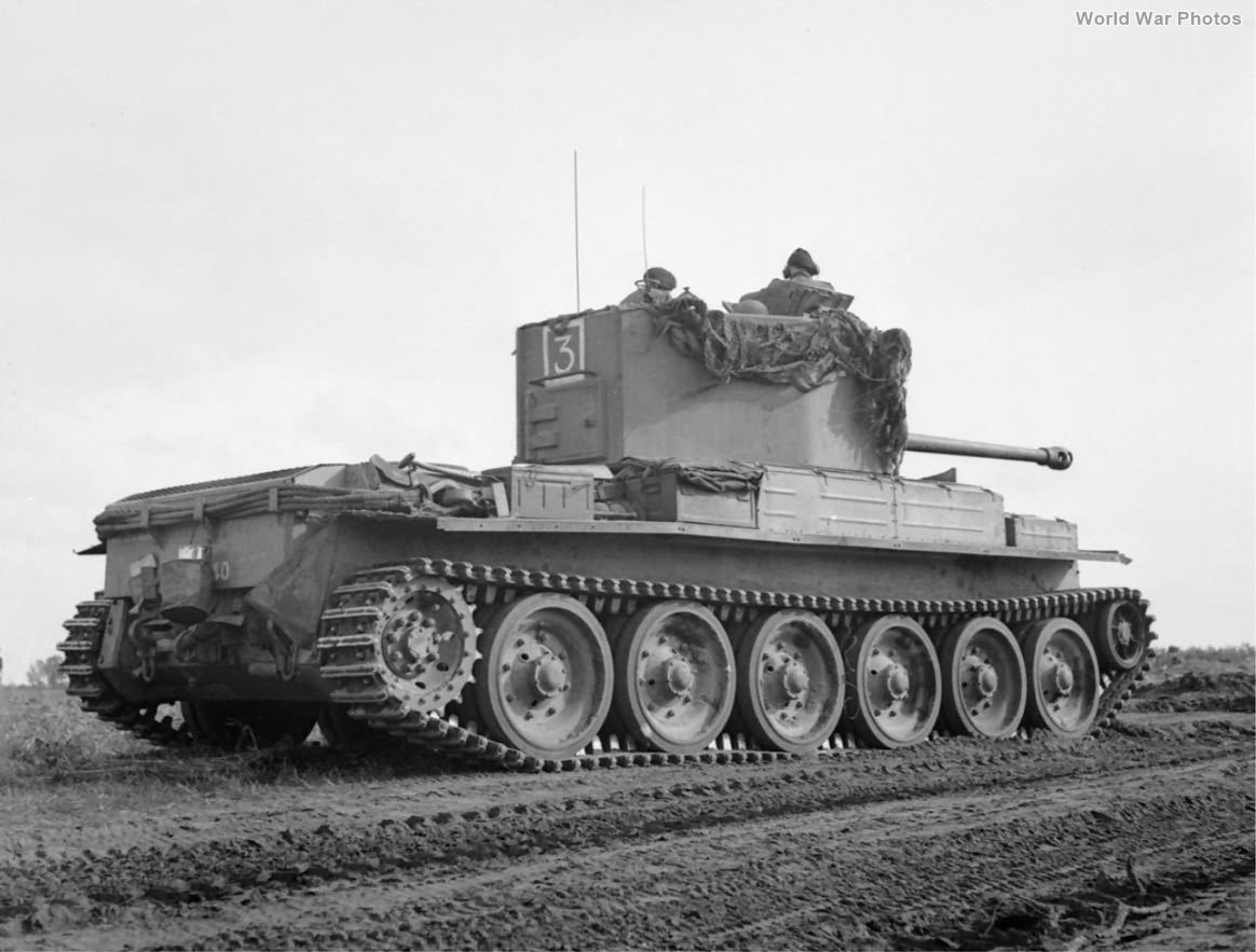 Challenger tank of 11th Armoured Division Holland 17 October 1944