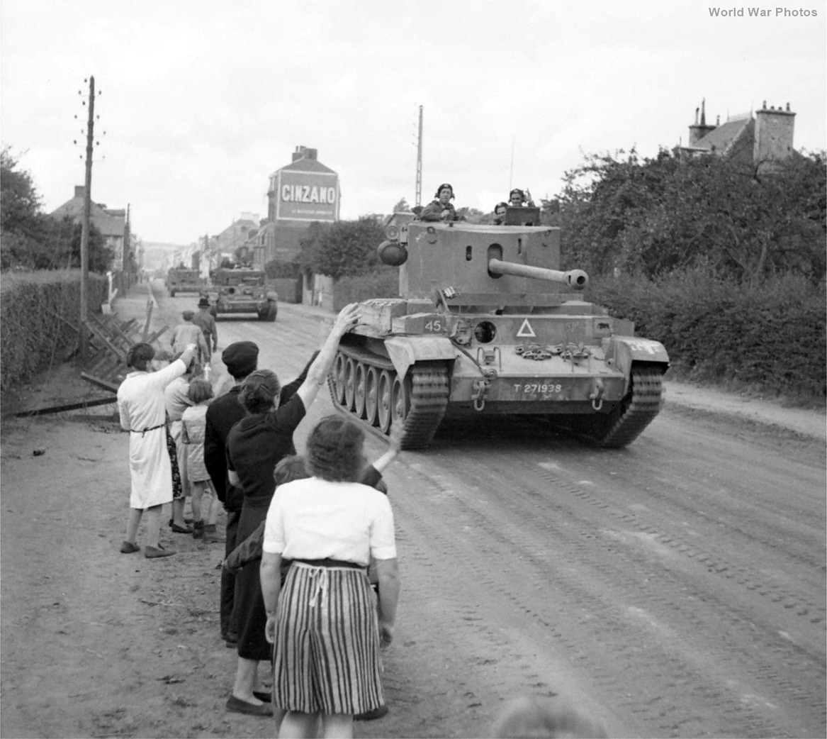 Challenger of 11th Armoured Division Flers 17 August 1944